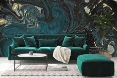 A N Wallpaper, Custom Wallpaper, Designer Wallpaper, Moving Walls, Wall Design, Custom Design, Couch, Barn Doors, Furniture