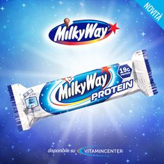 "Barrette > #MILKY WAY < La nuova barretta proteica di #MARS! Scegli la ""strada"" del #gusto! Acquistale subito su #VitaminCenter"