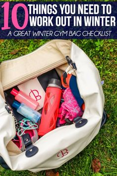 Face it, your fitness routine is going to change in the winter. This great list of things you need to exercise in winter is the perfect way to get you into your favorite yoga poses again in no time. With everything from how many pairs of shoes to tips for organizing your makeup and jewelry, this is the perfect checklist to get you back into your Nike inspired routine in no time. And #1 would make one of the best gifts for anyone who loves running! [ad]