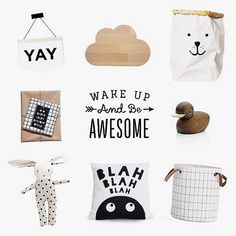 Any room looks extra special with the little extra touches... these would be perfect to finish a black and white baby/nursery room.