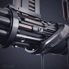 """garethwashere: """"GAT_LING02 // I received a few requests to show the other side of the Gatling Gun """""""