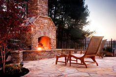 Isokern Outdoor Fireplace by Innovative Outdoors in Duluth, GA
