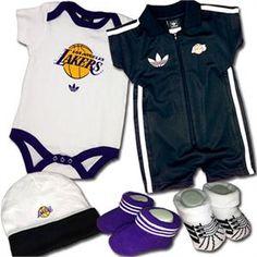 Adidas Lakers Baby Gift Set Adidas Baby d926c9da4