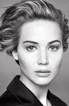 Jennifer Lawrence shows off her barefaced beauty for Dior | #JLaw #Headhsot #Actress #sexy #beautiful #campaign #fashion #photography #Moviepilot