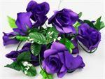 4 x Supersized Rose Garland - Purple | eFavorMart