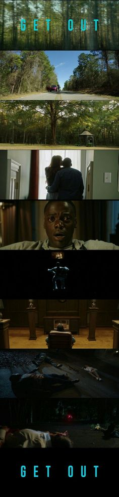 Get Out(2017) Directed by Jordan Peele.