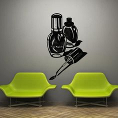 Wall decal decor decals art varnish manicure by DecorWallDecals, $28.99