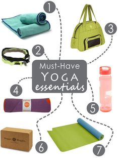 Seven Must-Have Yoga Essentials for Your First Class - Anytime Health: Yoga Fitness - http://amzn.to/2hmQneS