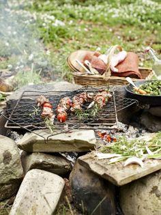 Spring lamb kebabs | Jamie Oliver