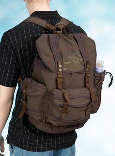Diaper backpack for dads!