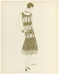 Cr�ation Paul Poiret, 1925, Anonymous, Montbrun, Paul Poiret, c. 1925