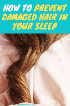 Worried about hair breakage during the night? This tip will help you avoid hair damage while you're sleeping! Grow Long Hair, Hair Breakage, Easy Hairstyles For Long Hair, Hair Care Tips, Damaged Hair, About Hair, Simple Way, Healthy Hair, Sleep