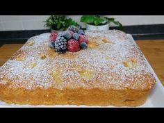 Πάρτε 3 μήλα και φτιάξτε αυτό το νόστιμο κέικ χωρίς λάδι και βούτυρο. - YouTube Cheesecake Desserts, Apple Cake, Butter, Desert Recipes, Yummy Cakes, Mousse, Biscuits, Fruit, French Toast