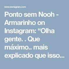 """Ponto sem Nooh - Armarinho on Instagram: """"Olha gente. . Que máximo.. mais explicado que isso impossível!! Tudo graças a @hanan_mustafa !! Lindomm adorei!! #pontosemnooh #fiodemalha…"""""""