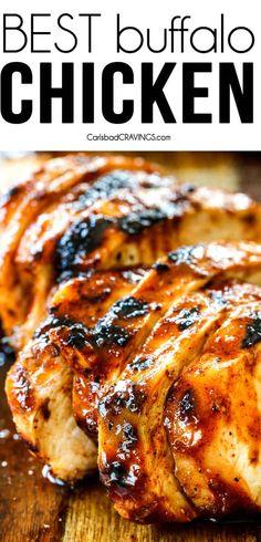 Buffalo Chicken Recipe - Chicken and Turkey Recipes - Buffalo Chicken Recipe – Carlsbad Cravings Informations About Buffalo Chicken Recipe Pin You can e - Buffalo Chicken Tacos, Buffalo Chicken Recipes, Chicken Marinade Recipes, Buffalo Chicken Tenders, Healthy Buffalo Chicken, Recipe Chicken, Turkey Recipes, Dinner Recipes, Drink Recipes