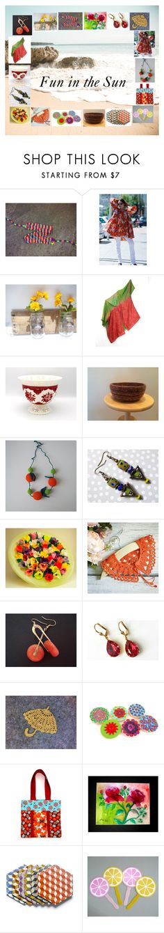 """Fun in the Sun: Birthday Gift Ideas for Her"" by paulinemcewen on Polyvore featuring Hostess, rustic and vintage"