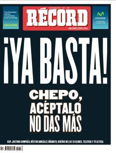 Las mejores portadas del 2013: Luego de malos resultados del Tri, RÉCORD publica la portada negra el 8 de julio