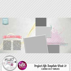 Project Life - Template Week 31