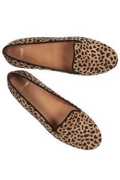 coveting... animal print slipper/loafer style