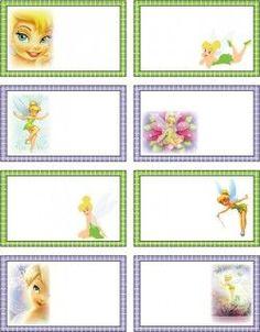 Resultado de imagen para moldes de sobres para imprimir disney campanita