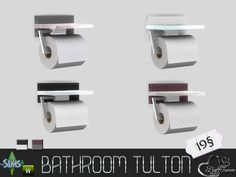 BuffSumm's Tulton Bathroom Toilet Paper Roll (Recolor 1)