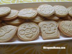 Anpanman cookiers.