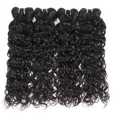 【Wedding bridal Hairstyles】Wholesale Water Wave Hair Vendors Peruvian Water Wave Weave Sew In Peruvian Water Wave Hairstyles For Wavy hair #hairbundles #waterwave