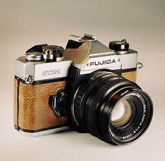 Fujica STX-1 / Brown Skin / 35mm Film SLR / LightBurn Restored Camera / 50mm f1.9 Lens / £46.99