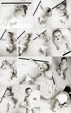 Детская фотосессия от рождения до года