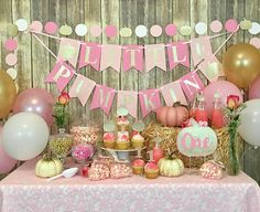 Info, tips and hacks for beautiful baby shower decorations! Ensure that the best one to shoot your baby shower day is experienced.You will not want someone taking baby shower photographer that you are not meet your high standards. Pumpkin Patch Birthday, Pumpkin First Birthday, First Birthday Themes, Baby Girl 1st Birthday, Birthday Banners, Farm Birthday, Birthday Ideas, Fall Birthday Decorations, Birthday Invitations
