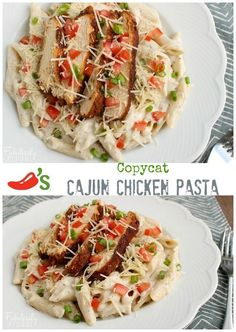 Copy cat Chili's Cajun Chicken pasta!