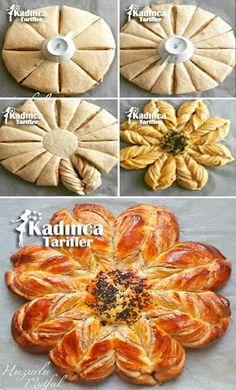 Tahinli Haşhaşlı Papatya Çörek Tarifi
