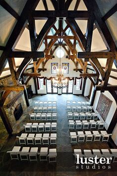 A beautiful venue for a wedding near Asheville NC. This is Castle Ladyhawke interior view.
