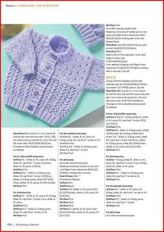 Lace Cardigan, Hat and Mittens Baby Set Knit. Crochet , Lace Cardigan, Hat and Mittens Baby Set Knit. Lace Cardigan, Hat and Mittens Baby Set Knit. Diy Crochet Cardigan, Baby Cardigan Knitting Pattern Free, Baby Boy Knitting Patterns, Baby Sweater Patterns, Baby Girl Patterns, Knitted Baby Cardigan, Knit Baby Sweaters, Baby Hats Knitting, Free Knitting