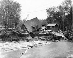 Memorial Day Flood in Colorado Springs - 1935