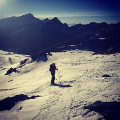 #skitouring with @pievo and @mbeckpeccoz @beckgin
