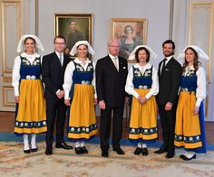 The Royal Watcher: The Swedish Royal Family poses for photos at the National Day Reception at the Royal Palace on June 6, 201