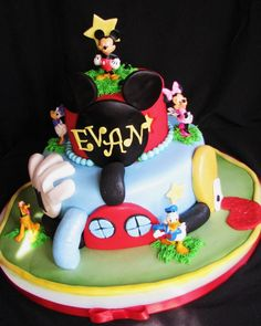 mickey mouse first birthday cake | Mickey Mouse Clubhouse Cake For First Birthday Wifey Pictures