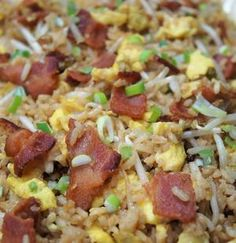 Bacon + Eggs Fried Rice