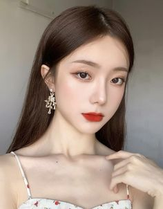 Makeup Korean Style, Asian Makeup Looks, Korean Natural Makeup, Korean Eye Makeup, Korea Makeup, Pretty Korean Girls, Korean Beauty Girls, Cute Korean Girl, Asian Beauty