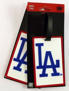 MLB Los Angeles Dodgers Two Pack Soft Laser Bag Tag by aminco. $6.92. Road trips, vacation, or at work these soft bag tags are a perfect way to show off your favorite team affiliation anywhere you travel! Made of high quality durable material, they can withstand all kinds of weather and are the perfect accessory for your backpack, briefcase, suitcase or anything you want to identify.
