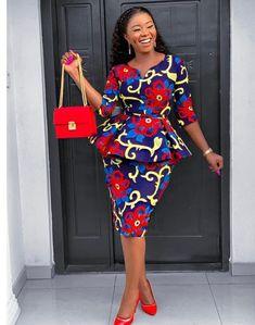 Zahra African Print Dress for Women, Ankara Dress, Peplum Top, Africa Print Clothing for Wome… 2020 fashion – Fashion Magazin styles African Fashion Ankara, Latest African Fashion Dresses, African Dresses For Women, African Attire, African Wear, African Women, Ghanaian Fashion, African Style, Ankara Dress Styles