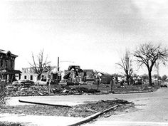 Super Tornado Outbreak - 1974 On April 3, all hell broke loose: The storm system spun 148 tornadoes across 13 states. The first twisters touched down at 2 pm in Bradley County in south central Tennessee and Gilmer County in northwestern Georgia. Ten minutes later and 450 miles away, tornadoes were loosed across Central Illinois -- and across Indiana 10 minutes after that. Twisters raged as far south as Laurel, Miss., as far north as Detroit, and all the way east to Staunton, Va