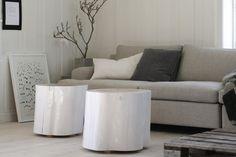 Møbler, stubber, stoler, småbord, stubbemøbler | Årringene blogg