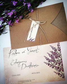 Uygun fiyatlı, çiçekli davetiye modelleri... #heradesign #elitedavetiye #davetiye #davetiyemodelleri #kişiyeözel #düğün #nikah #nişan #wedding #card #invitation #vintage #nikahhediyelikleri #nikahşekeri #weddingfavors #çiçeklidavetiye #floralinvitation