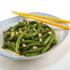 One Perfect Bite: Thai-Style Green Beans