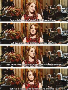Emma Stone Is a Genius