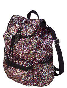 New Nwt JUSTICE Girls School Backpack Bag Bookbag Tote Pink ...