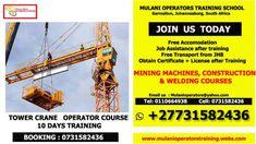 Welding Courses, Train Booking, Welding Training, Training School, Find A Job, South Africa, Transportation, Crane