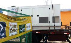 Fornecimento de 500 kva para corte programado de energia em supermercado de Campinas.